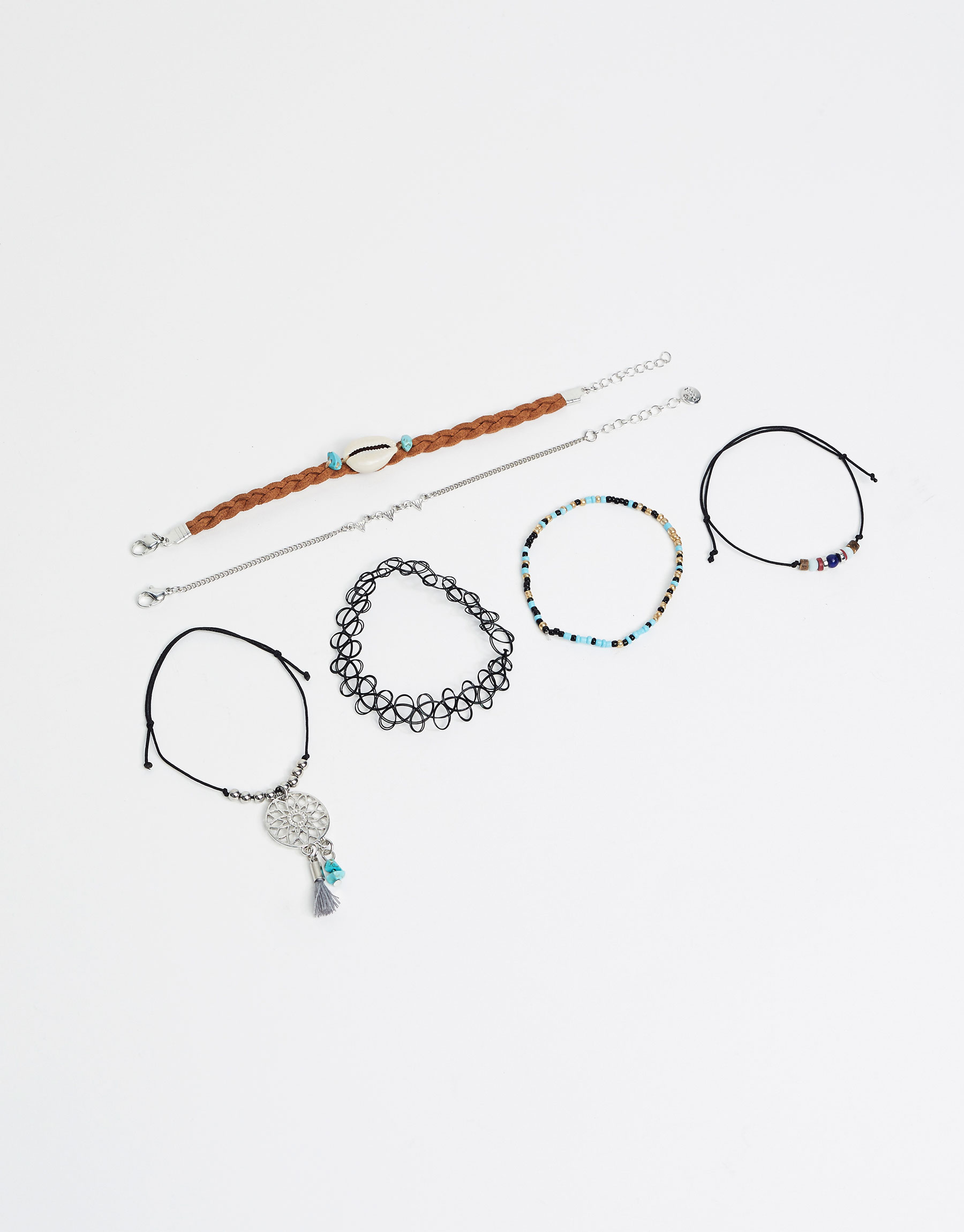 3-Pack of hippie bracelets