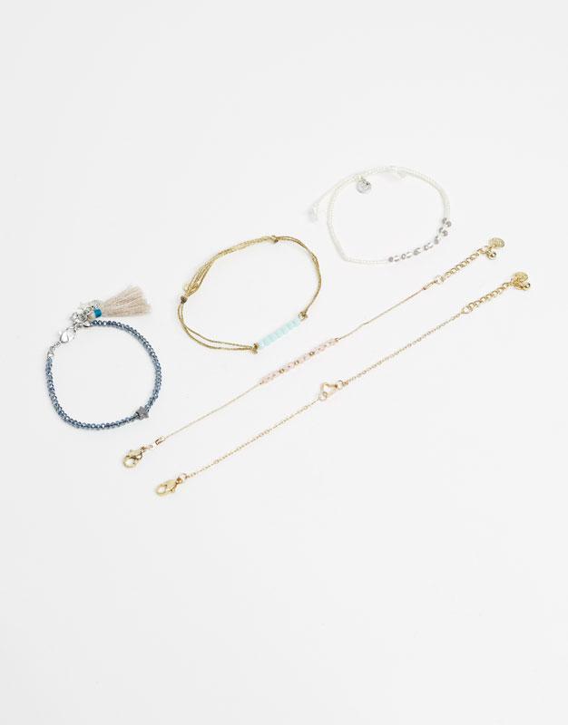 6-Pack of bracelets
