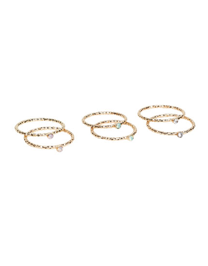 Pack 3 anillos