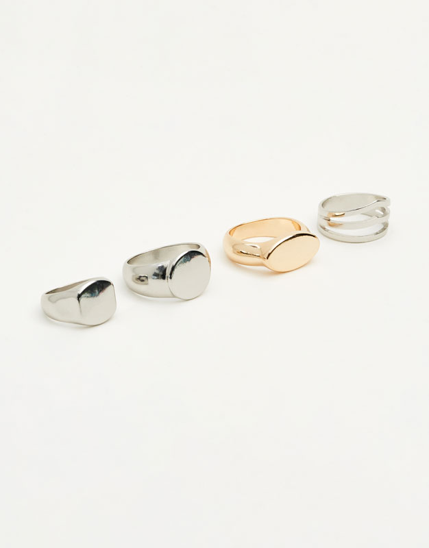 Pack of signet rings