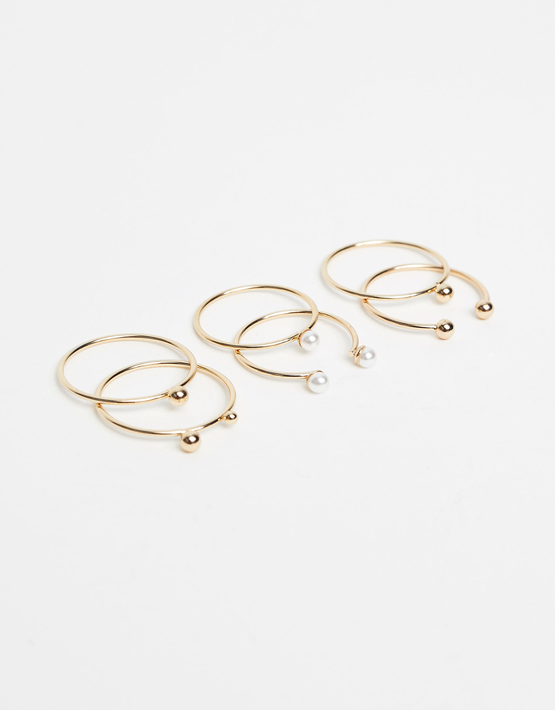 3-pack of minimalist rings