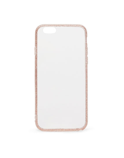 Glitter edge iPhone case