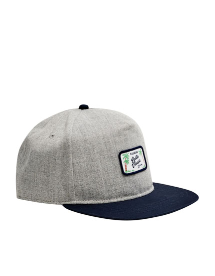 Grey cap with patch - Pantín Collection