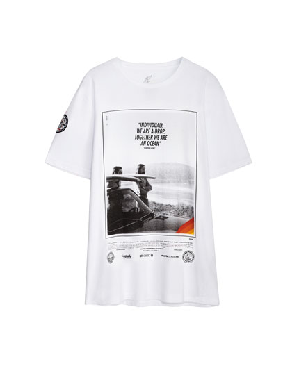 T-shirt with photo print - Men's Pantín Collection
