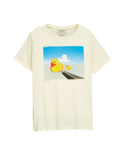 T-shirt imprimé canards