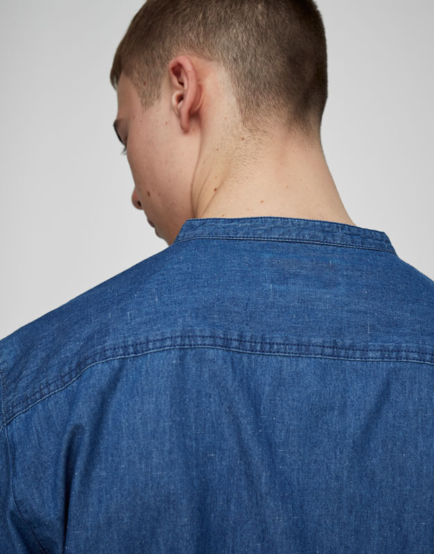 Camisa texana coll mao