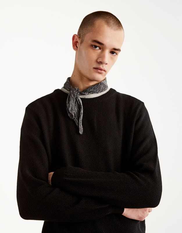 Men's Knitwear - Autumn Winter 2017 | PULL&BEAR