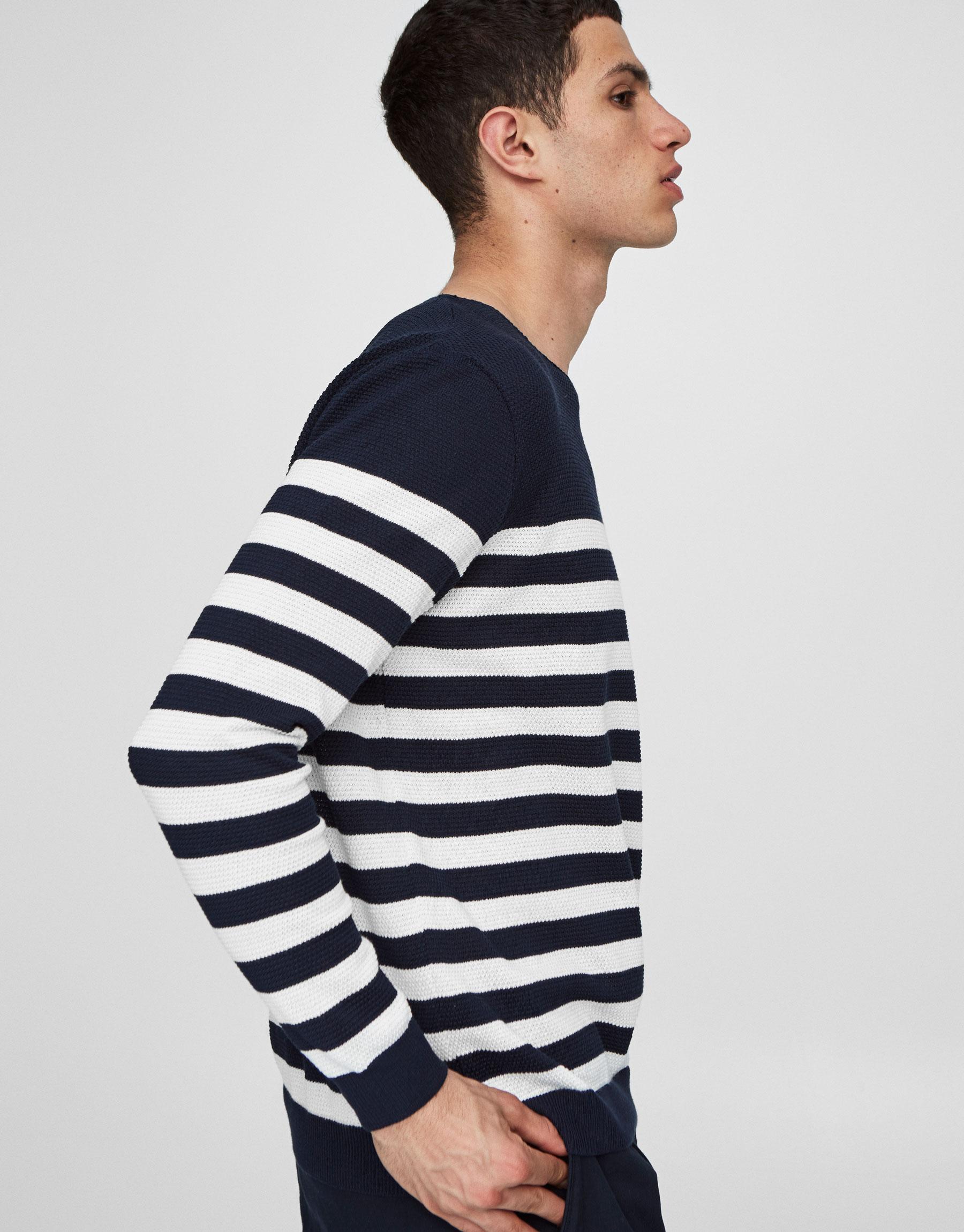 Nautical stripe sweater