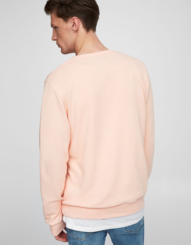 Sweatshirt in Sommerfarben