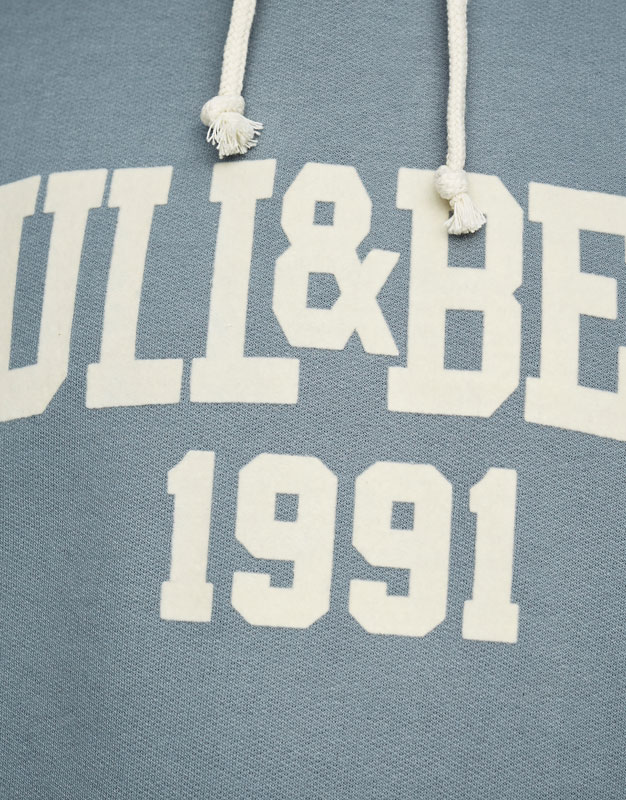 Dessuadora logotip pull&bear