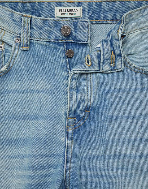 Jeans regular fit azul