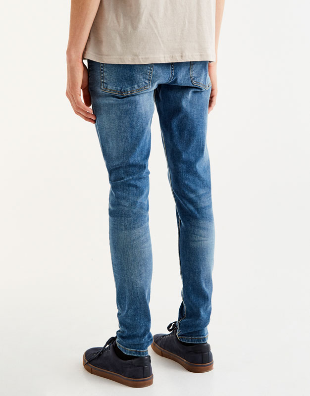 Jean bleu superskinny fit