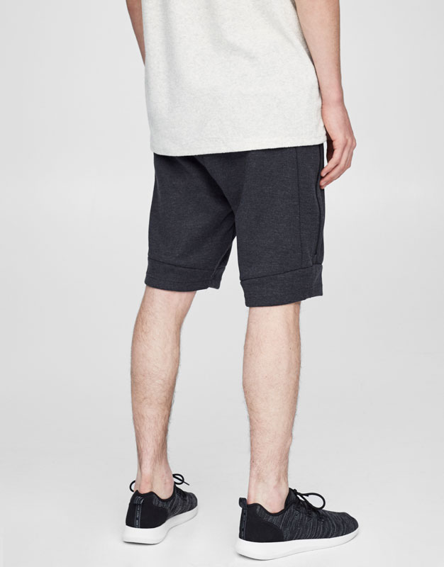Jogging Bermuda shorts