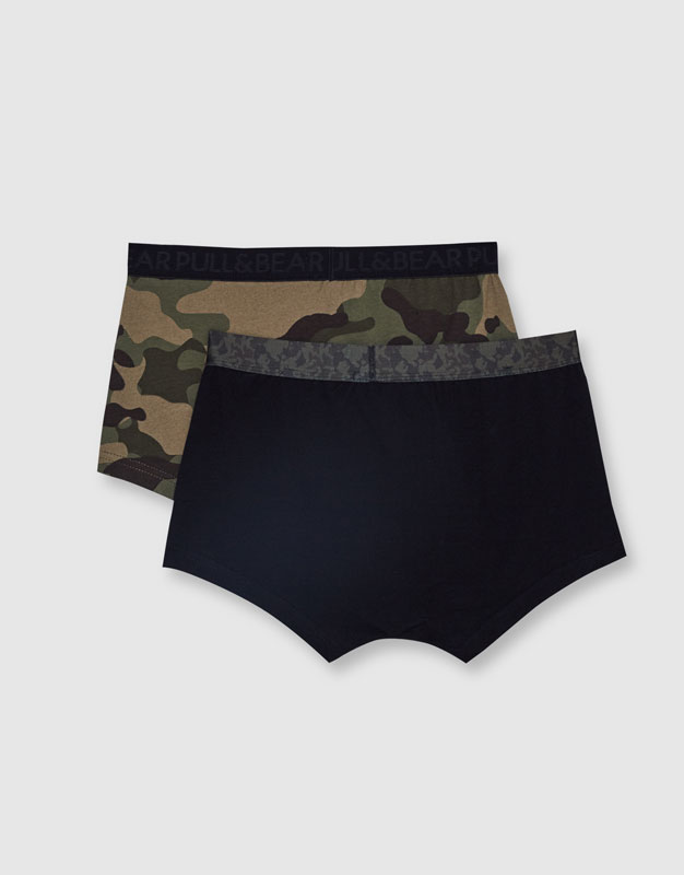 Camouflage boxer shorts (Pack of 2)