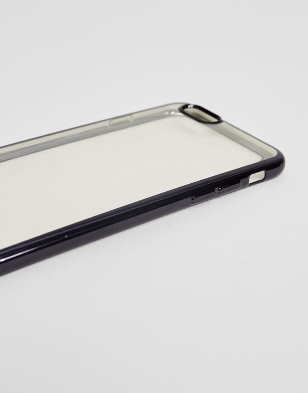 Mobile phone case with logo cord