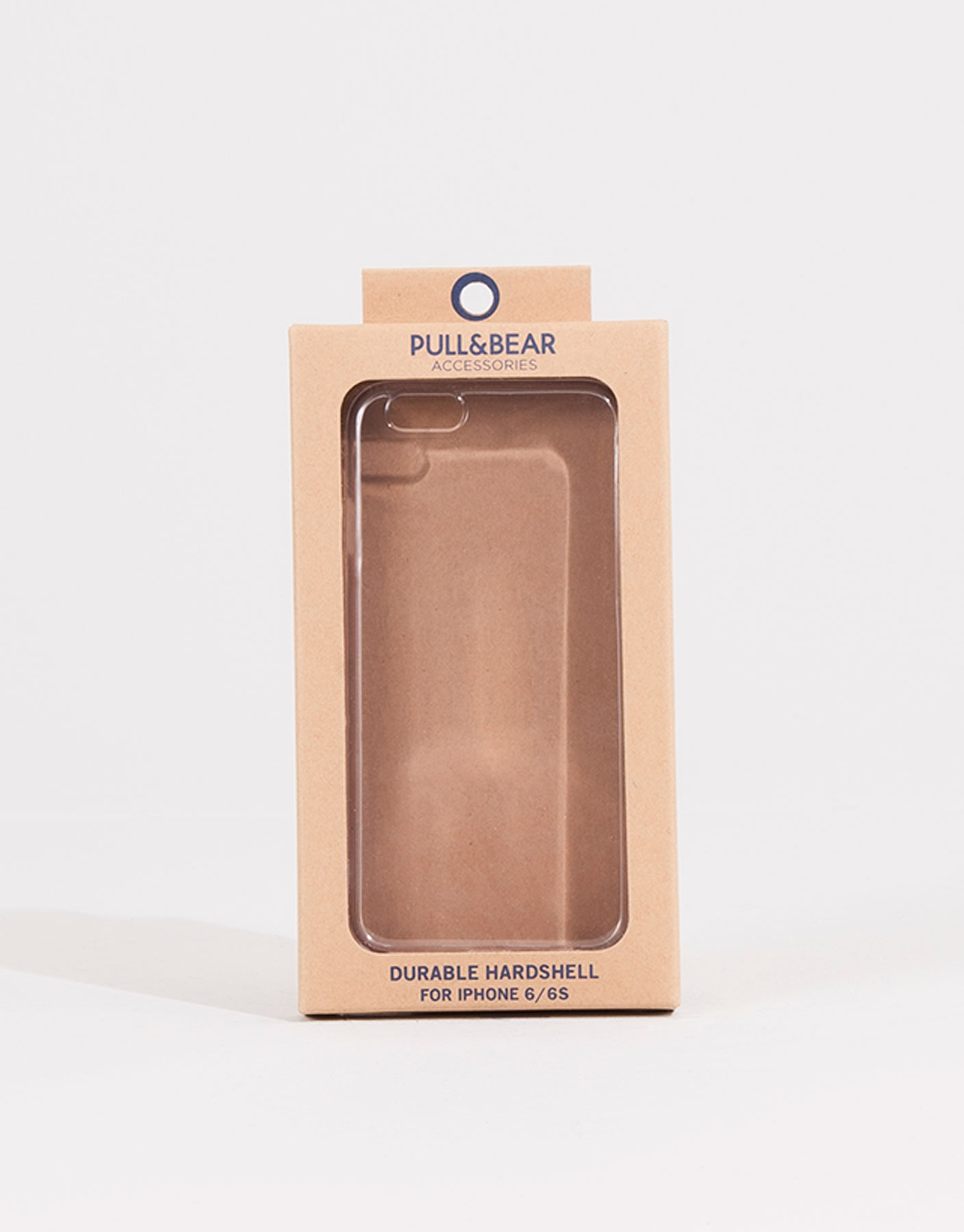 Transparent mobile case