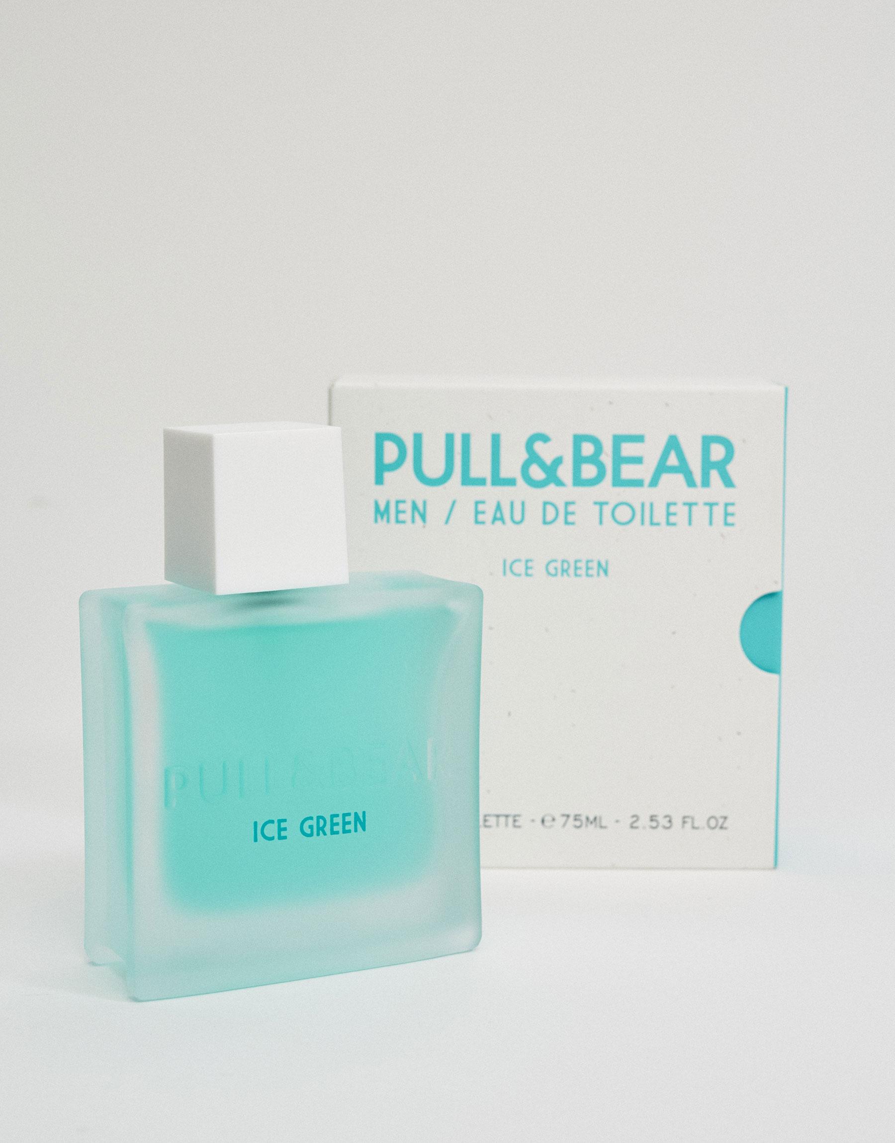 Eau de toilette pull & bear ice green 75 ml