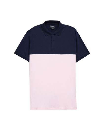 Panels polo shirt