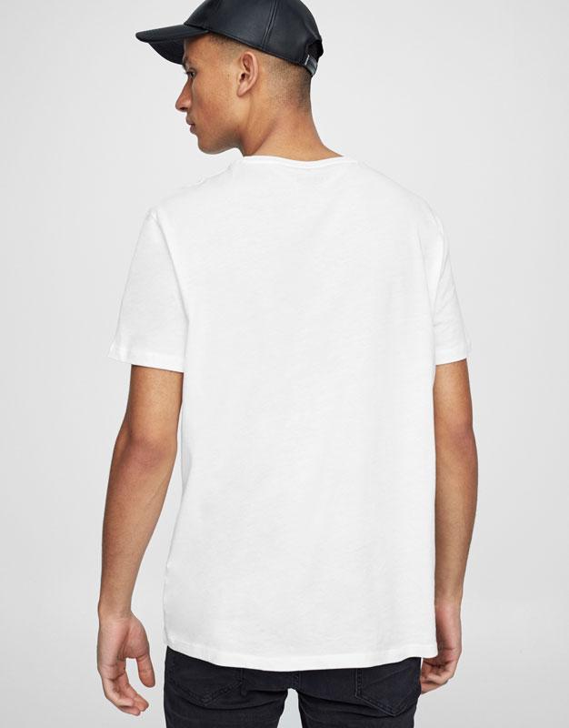 T-shirt graphique devant