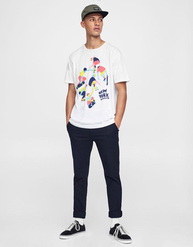 T-shirt graphique New York