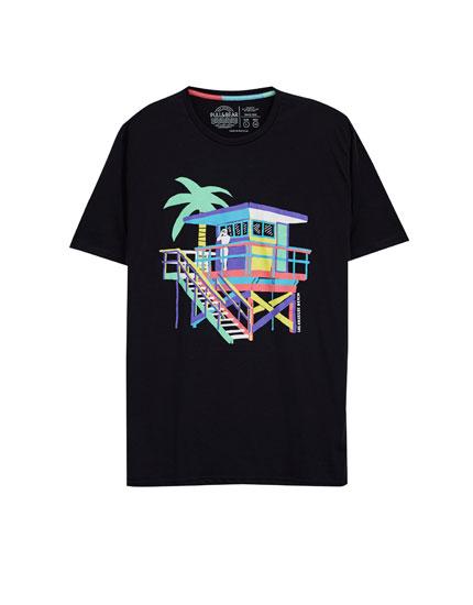 Camiseta gráfico frontal