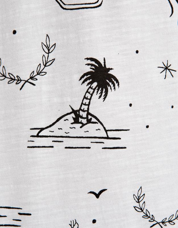 Samarreta panells surf