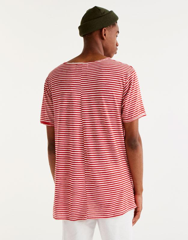 Camiseta panadera rayas