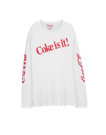 T-shirt manches longues Coca-Cola