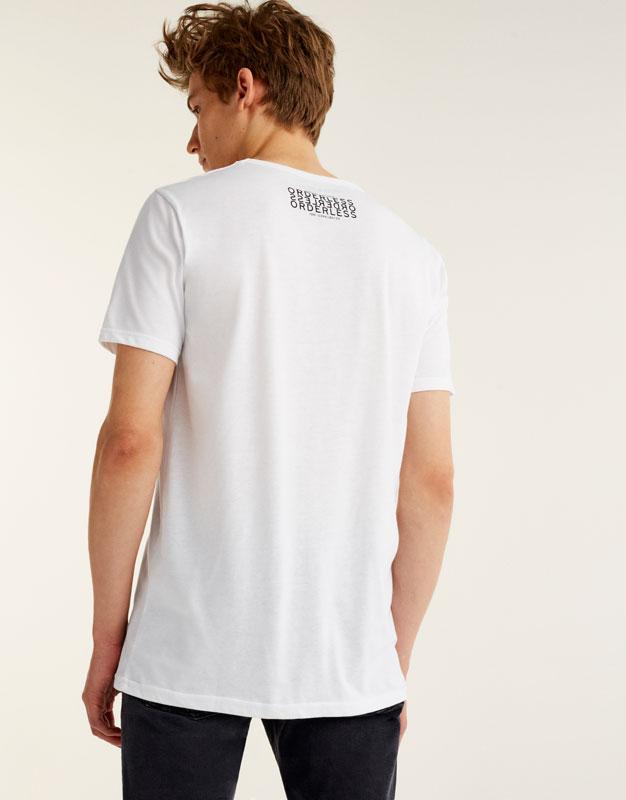 T-shirt imprimé Hollywood