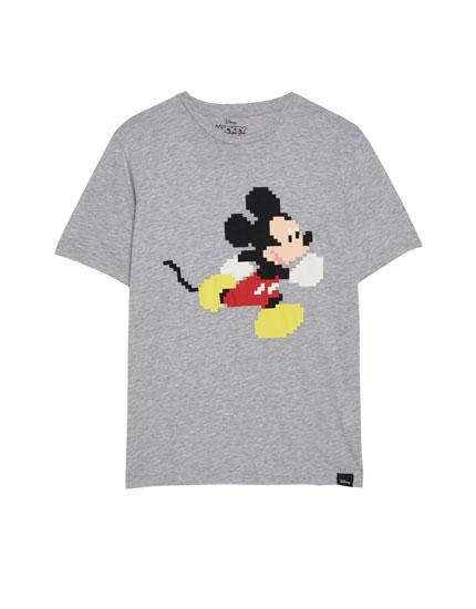 Camiseta Mickey pixel