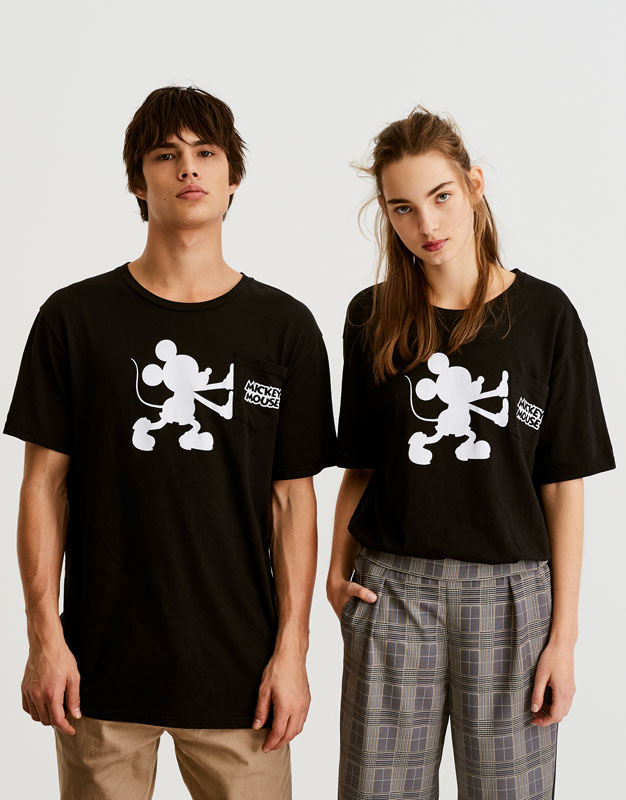 Mickey Mouse T-shirt with pocket
