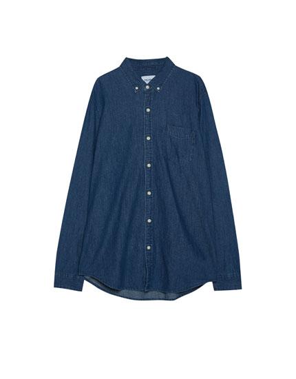 Basic denim shirt