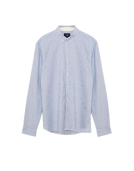 Gestreiftes Oxfordhemd