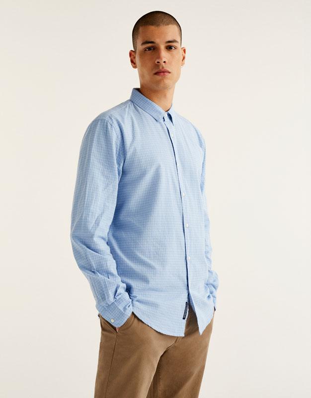 Checked Oxford shirt