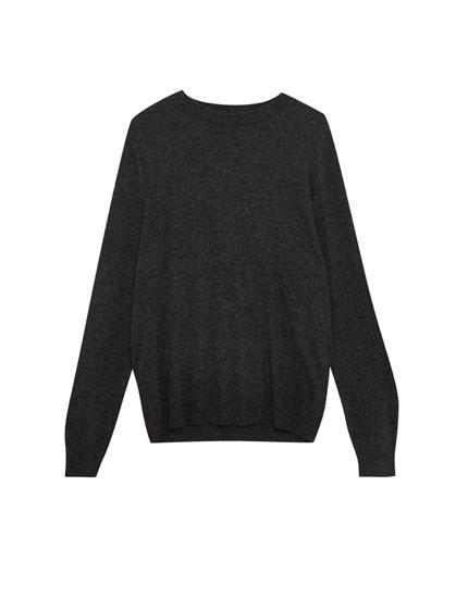 Basic wool sweater