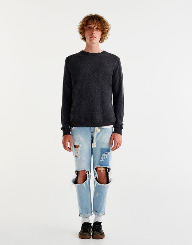 Jersey básico lana