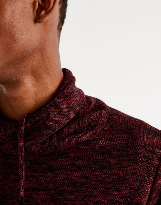 Jersey cuello envolvente