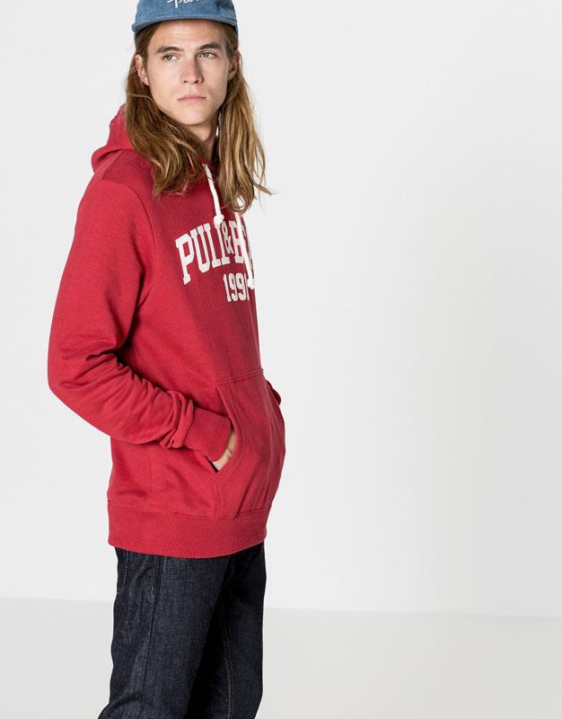 Pull&bear logo sweatshirt