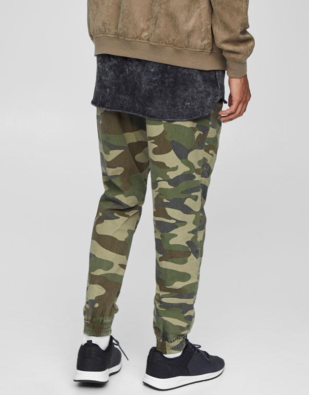Pantalons beach camuflatge amb cremalleres