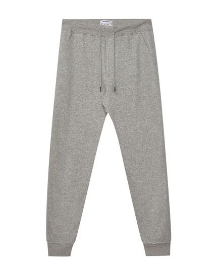 Pantalons jòguing llista lateral