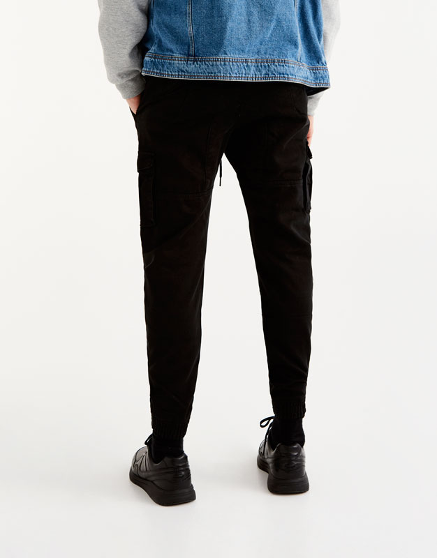 Pantalons jòguing de butxaques