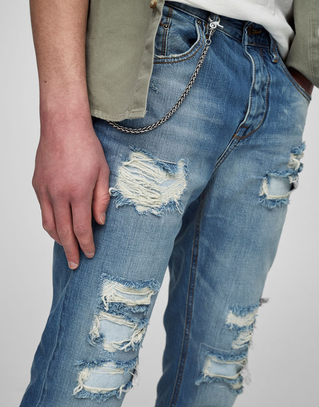 Jeans slim fit cropped