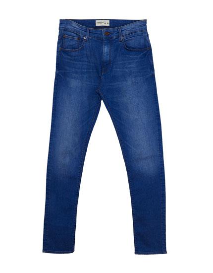 Jean bleu skinny fit