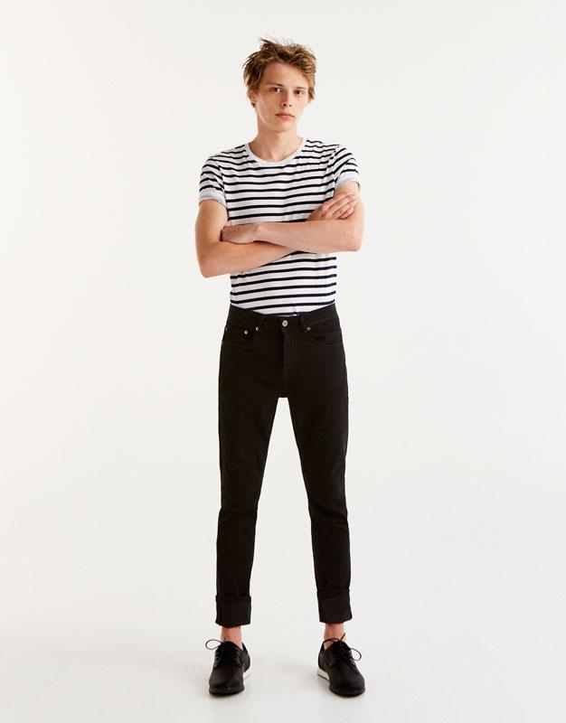 Jean slim comfort fit noir