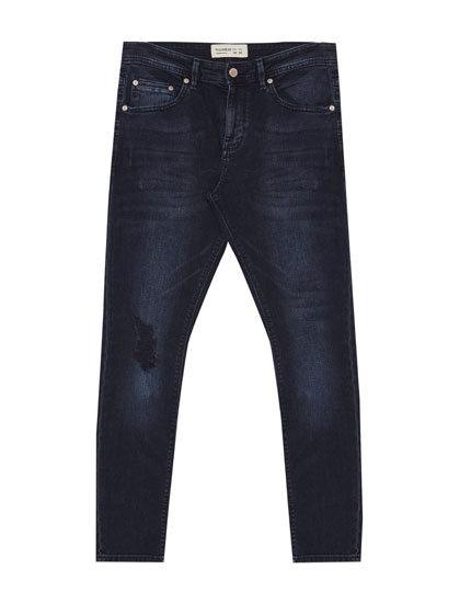 Jeans superskinny fit rotos