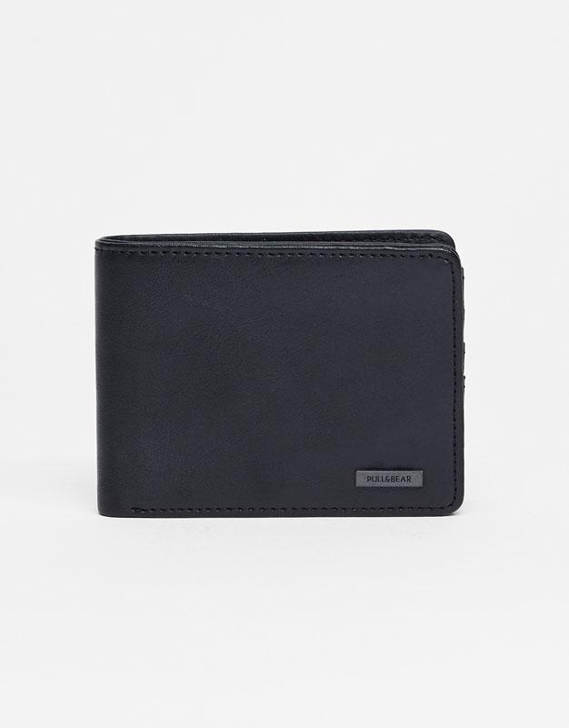 Basic black wallet