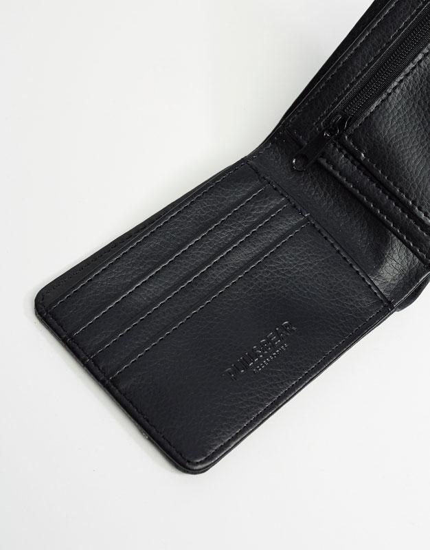 Grey nylon wallet