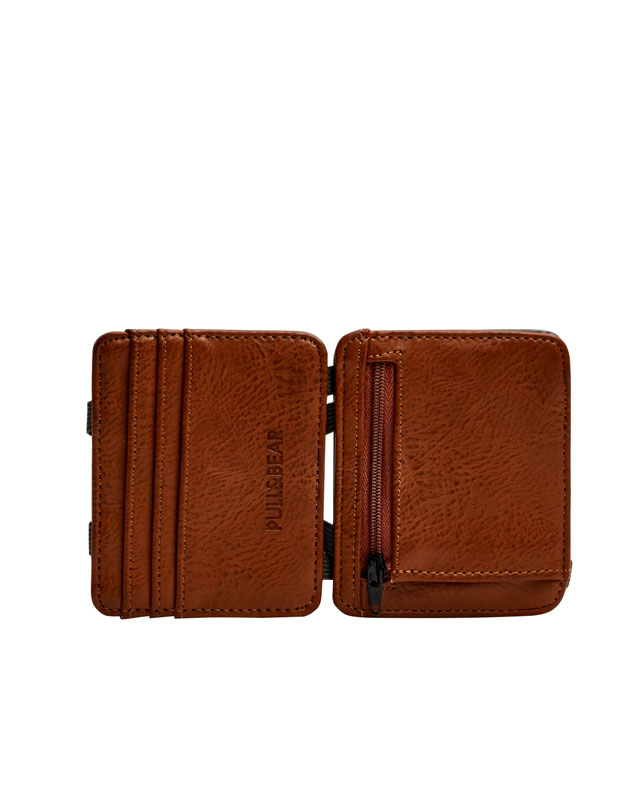 Brown magic wallet