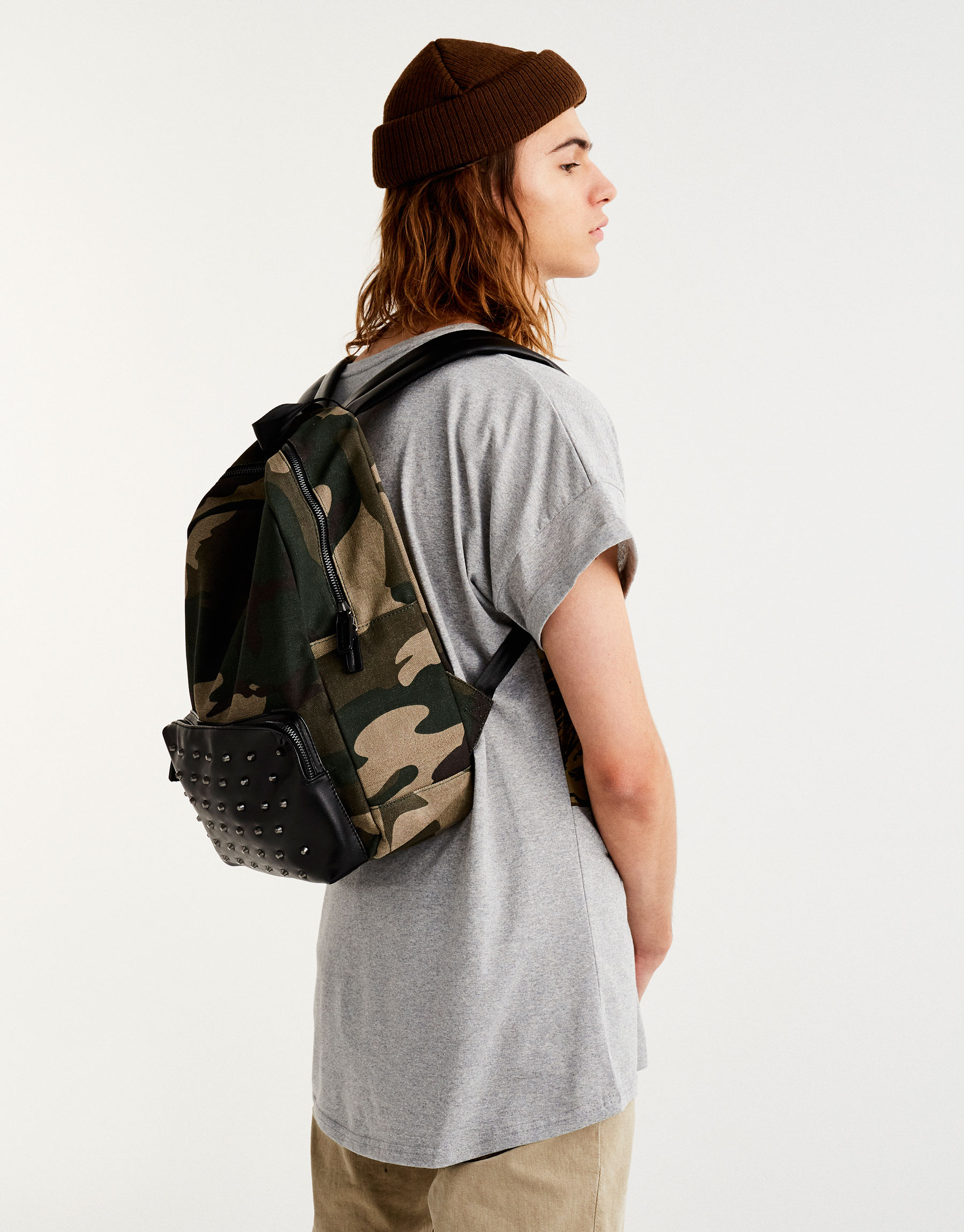 Camouflage backpack