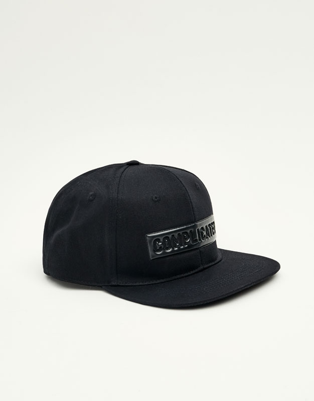 All black cap